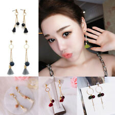 Long Section Candy Colors Fashion Pear Earring Tassel 1 Pair