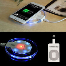 Universal Qi Wireless Charger Power Charging Receiver Kit For iPhone Samsung