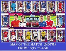 Choose Your MATCH ATTAX 2016 2017 Topps 16/17 MAN OF THE MATCH Cards MOTM Card