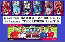 Choose MATCH ATTAX 2016 2017 Topps 16/17 LEGENDS Tesco Exclusive Cards