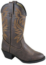 NEW! Smoky Mountain Boots - Toddler - Western Cowboy- Brown Distress Crackle
