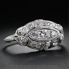 4CT White Topaz 925 Silver Women Jewelry Ring Wedding Engagement Ring Size 6-10