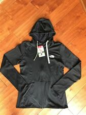 NWT WOMEN'S THE NORTH FACE FAVE LITE LFC FULL ZIP HOODIE BLACK SMALL / MEDIUM