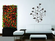 Wall Mural Vinyl Decal Sticker Ornament Design Floral Abstract Decor Room Tree