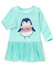 NWT Gymboree Enchanted Winter Penguin Tulle Dress 18 24 mo 2T 5T Girl Toddler