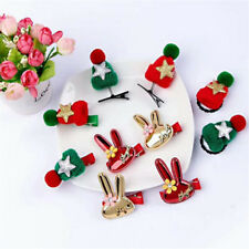 Star Party Baby Headdress Christmas New Year Hairpin Girl Child Woolen Hat Clip