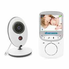 """2.4""""LCD Baby Monitor Camera Night Vision 2.4GHz Wireless Security 2-Way Talk"""