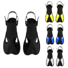 Adult Swim Fins - Diving Flippers - Scuba Snorkeling, Diving, Swimming Gear