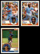 1983 Topps Baseball Traded Complete Set (In Binder) NM/MT