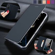 For iPhone X 8 7 Plus Luxury Flip PU Leather Wallet Card Back Case Cover Stand