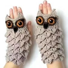 Mittens Fall Winter Hand Warmers Owl Shape Gloves Women Girl Mittens Warm Gloves