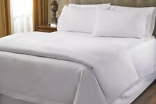 Great Bedding Item-100% Egyptian Cotton 1000 TC In USA Size White Solid.