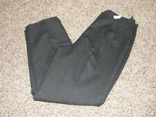 BEAUTIFUL Lane Bryant VENEZIA Gray WOOL SLACKS PANTS size 14