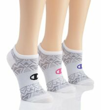 Champion CH248 High Performance Double Dry No Show Socks - 3 Pair