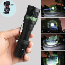 Super Bright CREE XML T6 LED Zoomable Bike Bicycle Flashlight + 360°Mount Clip