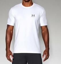 Under Armour Men's UA Charged Cotton Sportstyle T-Shirt 1257616 White