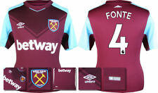 17 / 18 - ADIDAS ; WEST HAM HOME SHIRT SS / FONTE 4 = KIDS