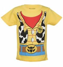 Official Kids Yellow Disney Pixar Toy Story Woody Costume T-Shirt