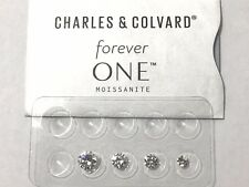 Forever One Near Colorless G H I Moissanite Rnd 1/4 - 2 ct Jewel Charles Colvard
