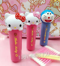 Hellokitty cartoon cotton swab box, toothpick dual storage case travel outdoor
