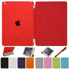 ULTRA SLIM MAGNETIC LEATHER SMART STAND CASE COVER FOR APPLE IPAD 2 3 4 AIR MINI