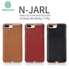 NILLKIN PU Leather Qi Wireless Charging Receiver Charger Case Cover For iPhone
