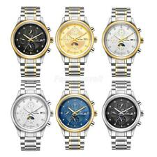 TEVISE Watch Mens Luxury 316L Stainless Steel Mechanical Analog Wrist Watch