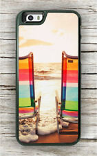 BEACH SUNSET CHAIRS CASE FOR iPHONE 6 6S or 6 6S PLUS -lnm8X