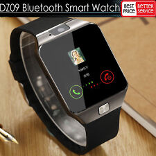LATEST DZ09 Bluetooth Smart Watch Camera SIM Slot For Samsung Android HTC Phone