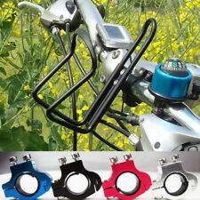 Cycling Bicycle Aluminum Alloy Handlebar Water Bottle Holder Cages+Bike Bell