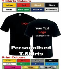 Custom Personalised T-Shirt Printing Design Your Own Gift Workwear