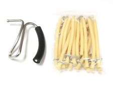 California Bloodless Castration Bander Stainless Steel and Bands (25 pk)