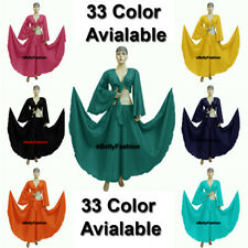 32 Color Cotton Skirt + Top Choli Belly Dance Costume Tribal Dress Gypsy Jupe Go