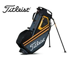 New Titleist Golf Players 14 Carry Stand Bag Orange 4-Way Divided Top