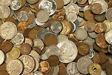 HUGE OLD COIN COLLECTION ESTATE SALE LOTS SET BY THE POUND WITH SILVER COINS !E