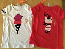 NWT Gymboree Ciao Puppy 6 7 8 10 12 Ice Cream or BFF Tee Shirt Top Girl