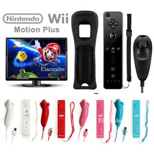 Motion Plus Inside Remote & Nunchuck Controller Combo Set for Nintendo Wii&Wii U