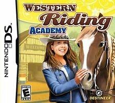 Western Riding Academy. Nintendo DS/DSi/3DS. Rare. Horses. Free Shipping