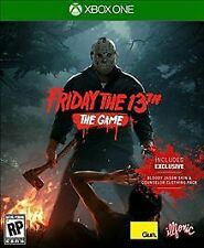Friday The 13th: The Game - Xbox One Edition Brand new and sealed