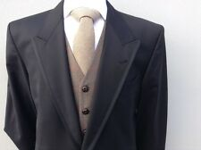 GENUINE SAVILE ROW OF LONDON EX HIRE BLACK 100% WOOL ROYAL ASCOT TAILCOAT TAILS