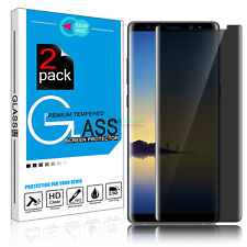 Privacy Anti-Spy Tempered Glass Full Screen Protector for Samsung Galaxy Note 8