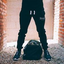 Mens gyms Fitness Sweatpants male Bodybuilding workout trousers Joggers Pants