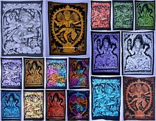 Lord Shiva Cotton Yoga Mat Poster Tapestry Ethnic Indian Wall Hanging Table Case