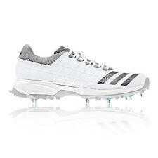 adidas Mens SL22 FS II Cricket Shoes White Sports Lightweight Trainers