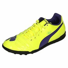 Boys Junior Puma Evo Power 4 TT Jr Astro Turf Football Trainers