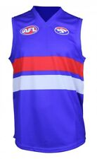 Western Bulldogs Official AFL Replica Adults Home Guernsey  by AFL Store