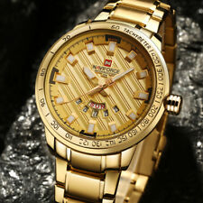 Watch Quartz Full Steel Men Watches Brand Luxury Golden Stainless Fashion New