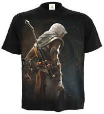 Spiral Origins - Bayek, Assassins Creed T-Shirt Black|Assassins Creed