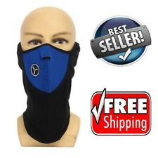 Warming The Neck Universal Motorcycle Neck Ski Snowboard Bike Warm Face Mask NIB