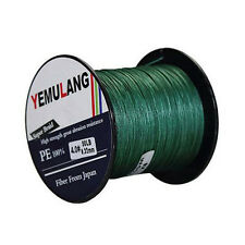 100% PE Dyneema Braid Fishing Line 4 Strand Spectra Green 100M 300M 500M 1000M